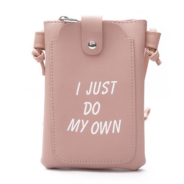 Women Bags Cross Body One Shoulder Mini Bag Letters Lady Keys <font><b>Mobile</b></font> <font><b>Phone</b></font> Envelope Messenger Bags Women PU Leather Wallet <font><b>Purse</b></font>