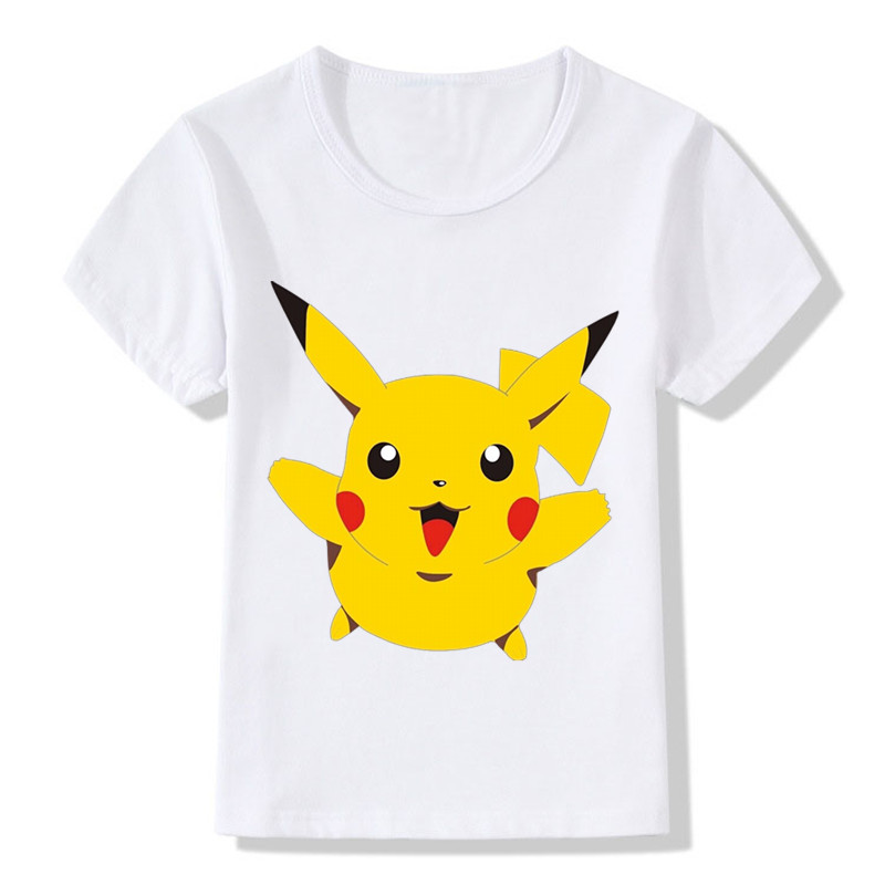 Boys T Shirts Spring 2018 Girl Short Sleeve T Shirt Cartoon Little Girls Tops Summer Boy T Shirt O-neck Toddler Tshirts
