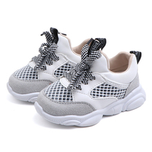 COZULMA New Baby Boy Shoes Kids Sport For Boys Girls Spring Soft Bottom Breathable Mesh Children Sneakers