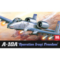 ACADEMY scale model 1/72 scale aircraft 12404 A-10A   plastic assembly model kits scale airplane model building kit