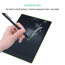 Promo offer 9.7 Inch LCD Digital Writing Board One Key Erase Montessori Educational Math Toys for Children Hand Painting Calculate Learning
