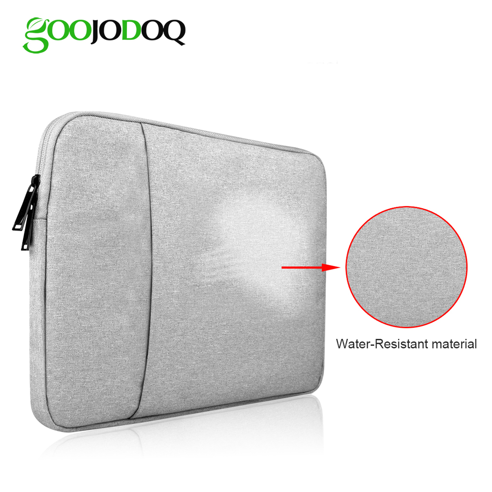 GOOJODOQ WaterProof Tablet Sleeve Bag Case for iPad Pro 12.9 2017 2018 2016 2015 Bag for Apple MacBook Air 13 Pro 13 Case 13inch image