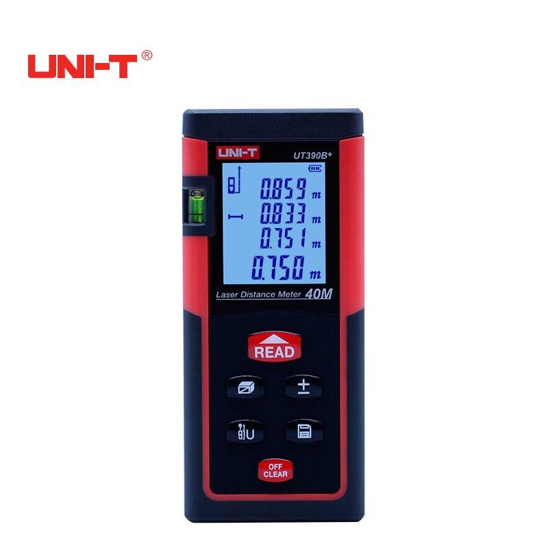 UNI-T UT390B+ 40M Handheld Digital Laser Distance Meter Rangefinders Diastimeter Area/Volumn Theorem Automatic calibration ман 40 390 бу продам