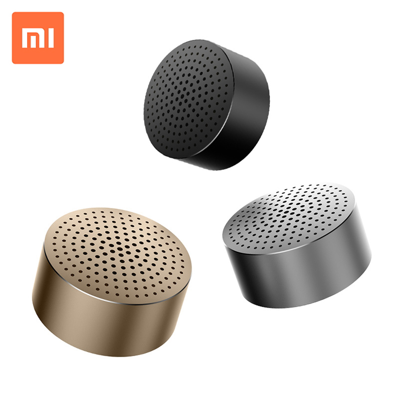 Original Xiaomi Mi Bluetooth Speaker Stereo Portable Wireless Mini Mp3 Player Music Speakers Hands-free Calls original lker bluetooth speaker wireless stereo mini portable mp3 player audio support handsfree aux in