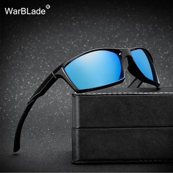 Visión HD noche Gafas de sol polarizadas hombres mujeres moda Ojos proteger  UV400 cuadrado negro Sol Gafas unisex gafas de warblade 3c0c0b4a4098