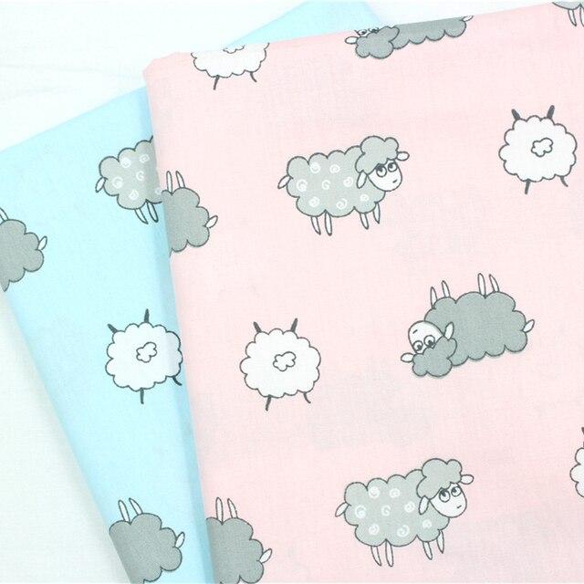 16010626,50cm * 50cm 2 color scale animated series cotton cloth