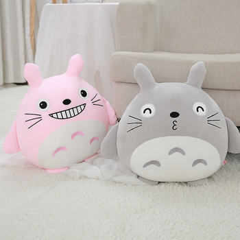 45cm Cute Totoro Plush Toy My Neighbor Totoro Stuffed Soft Doll Super Soft Animal Pillow Baby Kids Toy Christmas Gift stuffed toy