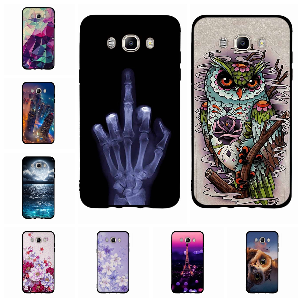 PHEZEN Galaxy J7 2018 Case,Galaxy J7 Star Case,J7 Crown Case,J7 Refine Case,J7 Aura Case,Clear Soft TPU Silicone Case Transparent TPU Bumper Protective Case for Galaxy J7 J737 2018 Panda