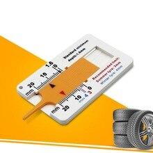 Авто глубины протектора шины суппорт авто Мотоцикл Трейлер колеса измерения трейлер ремонт инструмент оптом