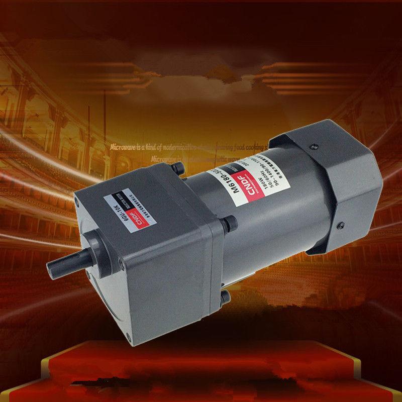 цена на Single phase 110V/115V 220V/230V AC Vertical Gear Motor Adjust the speed 200W M6180 6GU 7RPM-450RPM