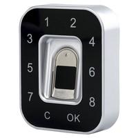 G12 Drawer Password Fingerprint Lock Anti-Theft Privacy Protection Fingerprint Password Lock Safety Shoe Lock File Lock Jewelr#8