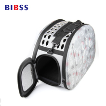 L Size Outdoor Travel Transport Animal Dog Bag Cage EVA Portable Foldable Small Pet Dog Carriers For Cat Puppy Chihuahua Breed