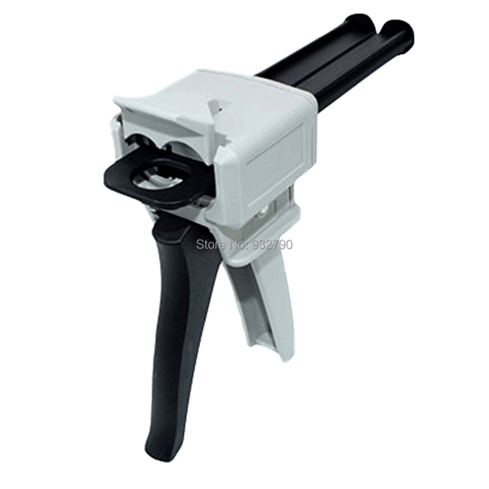 1:1 Applicator Dual Cartridge Manual 50mL Dispensing Gun For 50ml Epoxy Adhesive Cartridges (1:1 Ratios)