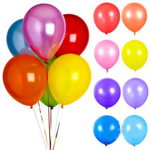 100pcs/lot 10 Colors Pearl Latex Balloon Inflatable Wedding Decorations Air Ball Happy Birthday Party Supplies Balloons