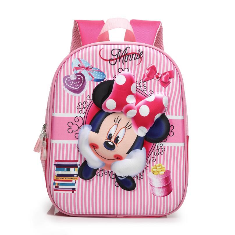 2018 красная роза Минни Рюкзаки мультфильм игрушки Человек-паук рюкзак девушка характер HELLO KITTY школы, детские сумки Mochila Infantil мешок