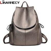 Роскошный бренд кожаный женский рюкзак большой емкости дорожные рюкзаки простые Наплечные сумки для девочек модный поясной Рюкзак Mochila