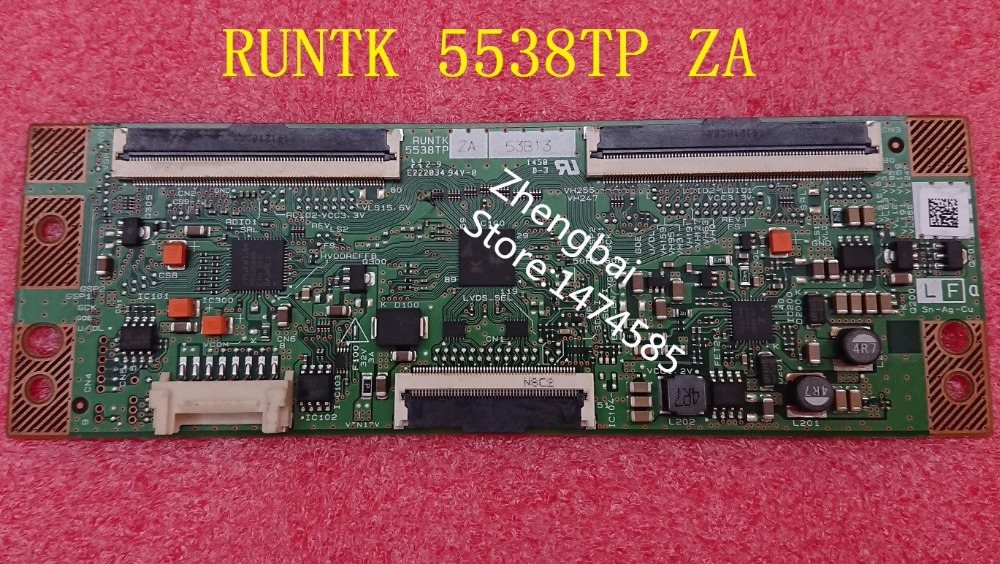 original new t-con RUNTK 5538TP ZA RUNTK5538TP,ZB or ZAis compatible and good working
