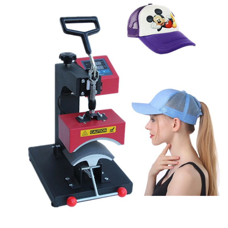 RB-C140 Cap Heat Press Machine Sublimation Heat Press Heat Transfer Machine Printer Hat Digital Grilled Hot-caps Baseball Cap promotion 6 7pcs bear bedding crib set 100% cotton crib bumper baby cot sets baby bed bumper duvet cover 120 60 120 70cm