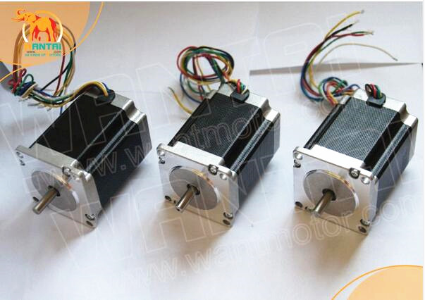 CNC Wantai 3PCS Nema23 Stepper Motor 57BYGH218 0.9N.m 2A Single Shaft 130oz-in 51mm cnc engrave Milling Medical equipmentCNC Wantai 3PCS Nema23 Stepper Motor 57BYGH218 0.9N.m 2A Single Shaft 130oz-in 51mm cnc engrave Milling Medical equipment