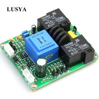 Lusya Class A 220V Power Amplifier Temperature Soft Start Delay Protection Board for Amplifier 30A 1000W A4 007
