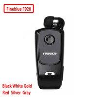 FineBlue F920 мини беспроводной Auriculares драйвер Bluetooth гарнитуры звонки напомнить износ вибрации клип спортивные бег наушники