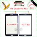 Оригинал T310 Сенсорный Экран для Samsung Galaxy Tab 3 8.0 T311 Touch Screen Digitizer Стекло С Home Button