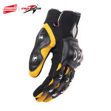 PRO BIKER Men Motocross Off Road Full Finger Racing Gloves Motorcycle Riding Gloves Guantes Luvas Protection