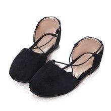 Girls Shoes Comfortable School Flat Shoes