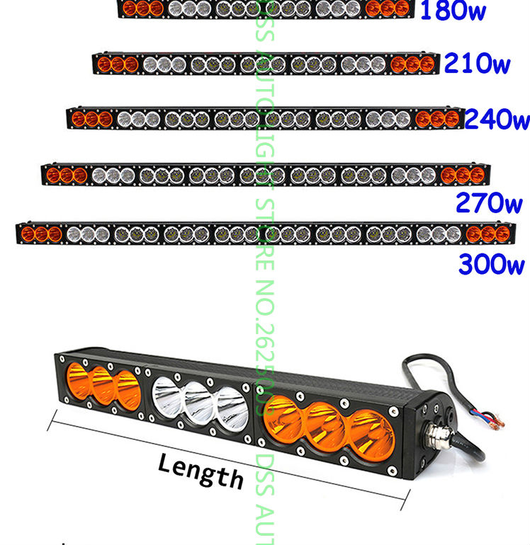 led light bar offroad light bar led driving light led work working light for jeep atv utv suv truck pick (2)