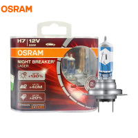 OSRAM H7 64210NBL NIGHT BREAKER LASER 12V 55W 4300K 2017 New Generation The Brightest Halogen Automotive