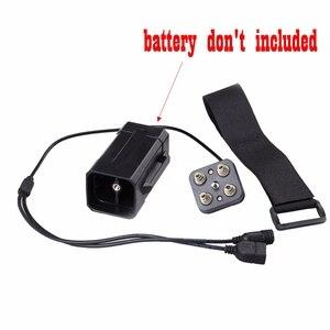 Image 4 - עמיד למים 18650 ליתיום סוללות אחסון מקרה תיבת כיסוי עם USB DC הכפול פלט 8.4V עבור אופני אור פנס טלפון סלולרי