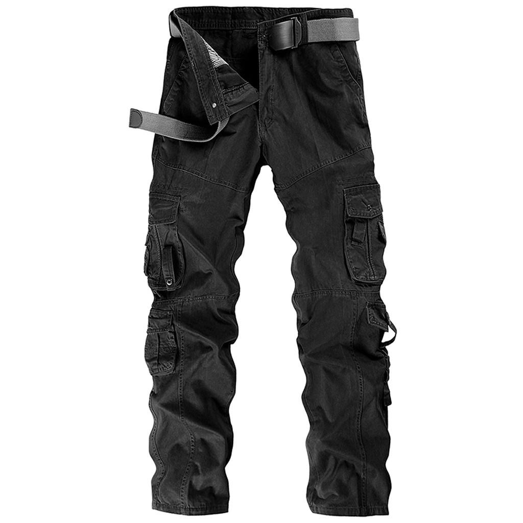 Cotton Trousers Clothing Workwear Leisure-Pants Men's Overalls Cargo New-Fashion-Style