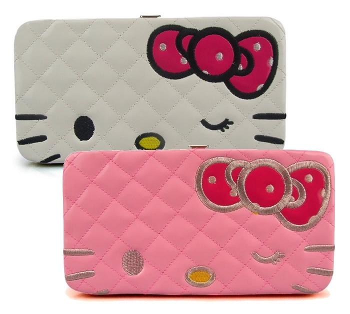 Free shipping HOT SALE 2015 New design Hello kitty Fashion wallet Women  Clutch Wallet Cartoon wallets PU Leather Long Purse 095b6e8867