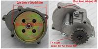 17Tooth T8F 33CC 36CC 43CC 49CC Clutch Bell Housing Transmission Gear Box Mini Moto Scooter Chopper Bike Quad ATV Buggy Go kart