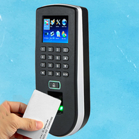 Optional Spanish Arabic Menu Biometric Fingerprint Access Control And Rfid Card Door Access Control System F19