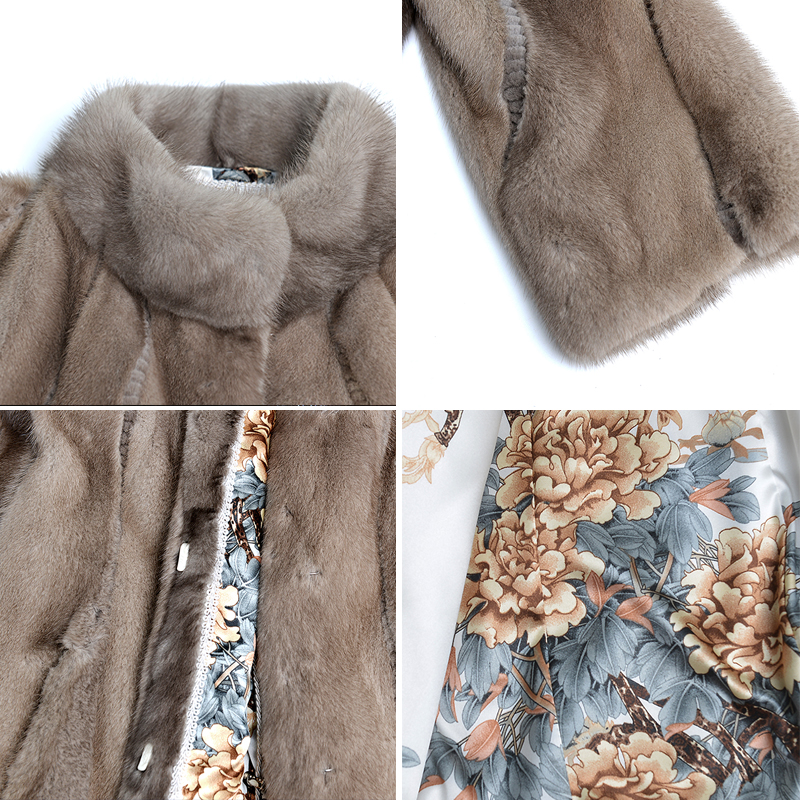 Fourrure Femme Qualité Hdhohr Gilet Femmes 2018 Manteaux Avec Réel Chaud La Champagne Outwear Pour Veste D'hiver Parc Vison De Haute Naturel aqq6zrEX