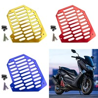 Areyourshop Motocycle Radiator Grille Cover Guard Shield Protector Fits For Yamaha NMAX 125 NVX 155 Stainless steel Motorbike