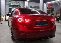 Динамический стайлинга автомобилей для Mazda 3 задние фонари 2014 ~ 2017 Mazda3 Axela сигнала mazda3 задние фары DRL + Тормозная + Парк + Динамический сигнал по
