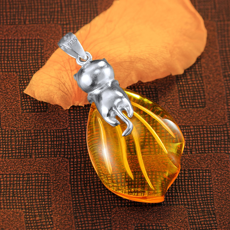 The Legend of Qin anime pendants necklace JiBu 925 sterling silver comics cartoon in Action Toy Figures from Toys Hobbies