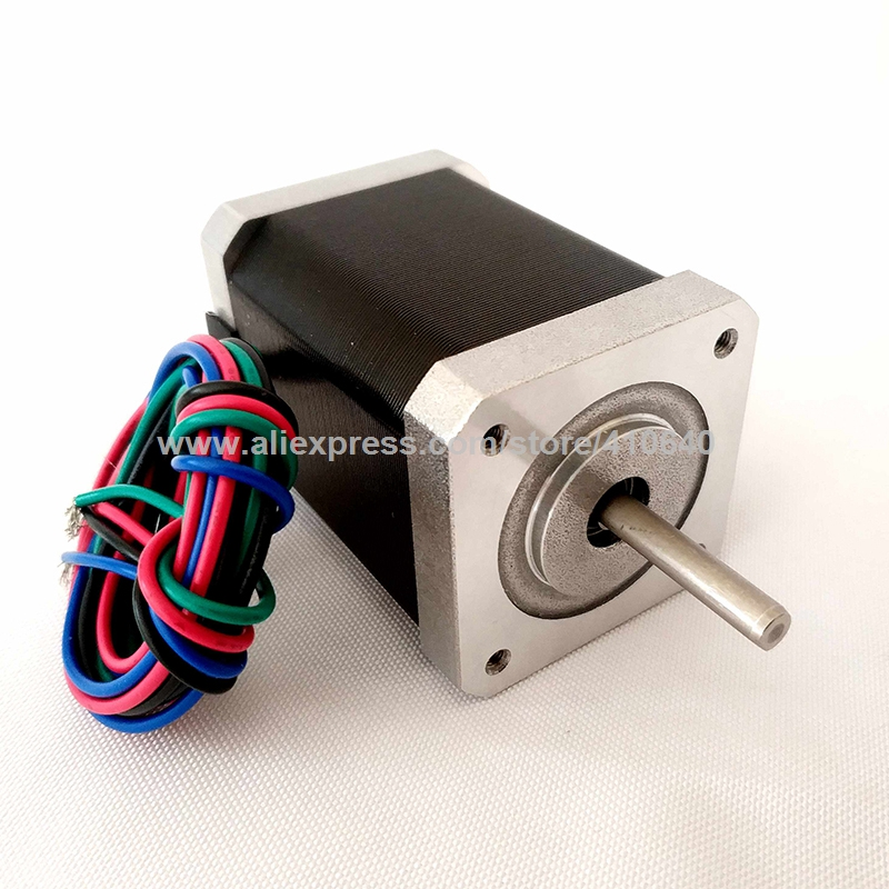 NEMA17 Stepper Motor 17HS251504SS 17HS251504SB 17HS251504DS 79 N.cm Torque 63mm Length Black Cover and Plug Type Wire Optional
