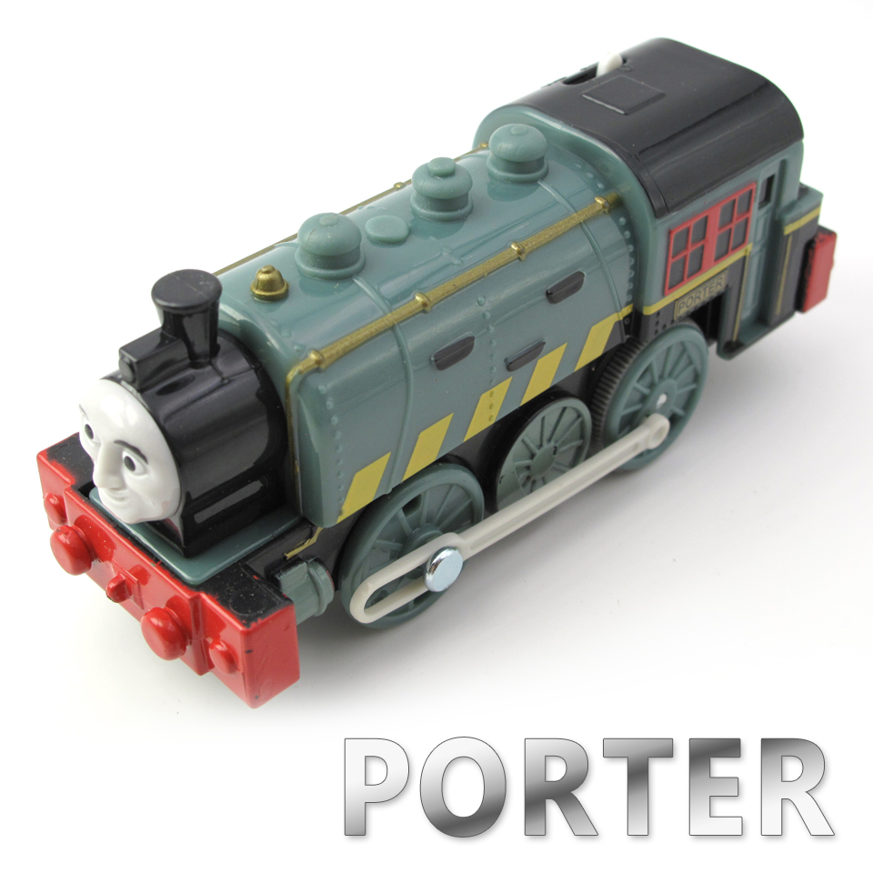 Electric Thomas Train T106E PORTER Thomas And Friends Trackmaster Magnetic Tomas Truck Locomotive Engine Railway Toys for Boys