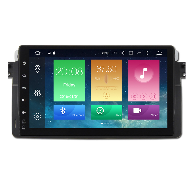 9Android 8.0 Octa Core Head Unti Car DVD Player For BMW E46 M3 MG ZT 3 Series Rover 75 GPS Navi Radio Stereo 2GB RAM 32GB ROM