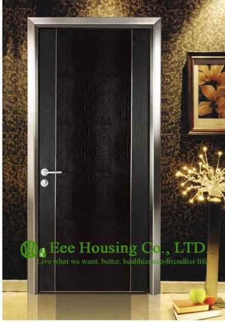 Modern Interior Hotel Door, Melamine finish Ecological Interior Door For Sale, Sound Proof hotel door for sale