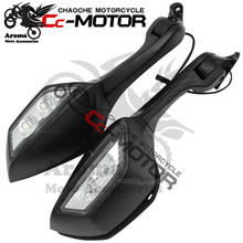 2011 2012 2013 2014 2015 year motorbike mirror with turn signal for Kawasaki ZX-10R rearview mirror LED motorcycle part black rearview mirrors turn signal lights for kawasaki ninja zx10r 2011 2015 2014 2013 motorcycle