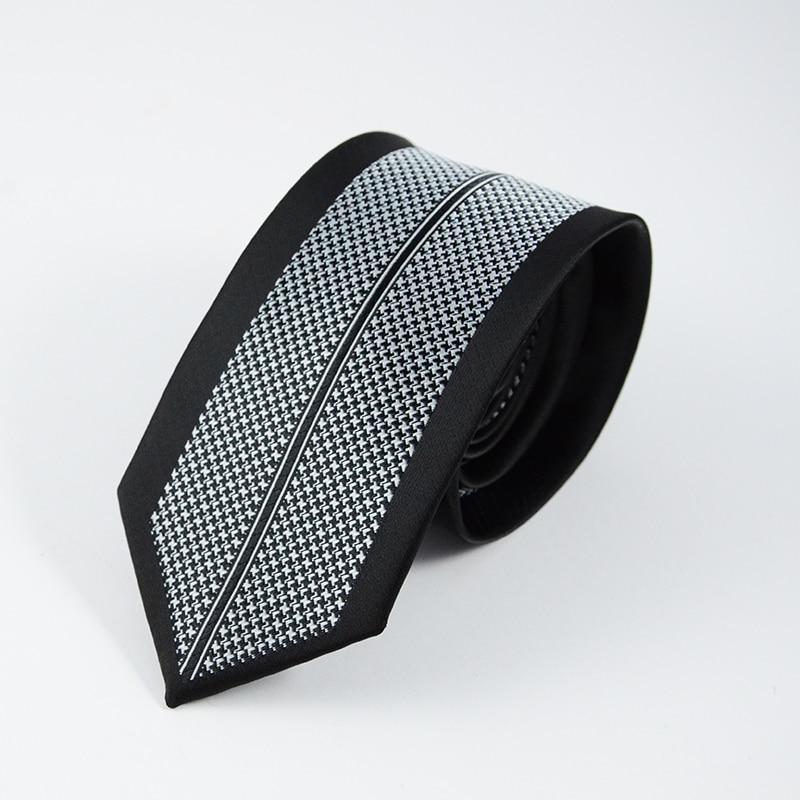 GUSLESON Neue Mens Ties Benutzerdefinierte Marke Mann Dot Gestreiften - Bekleidungszubehör - Foto 4