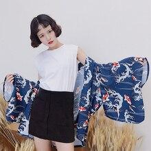 9e2032719 Kimono japonés tradicional Kimono de Mujer de verano de 2019 Cosplay ropa  japonesa tradicional japonés kimono