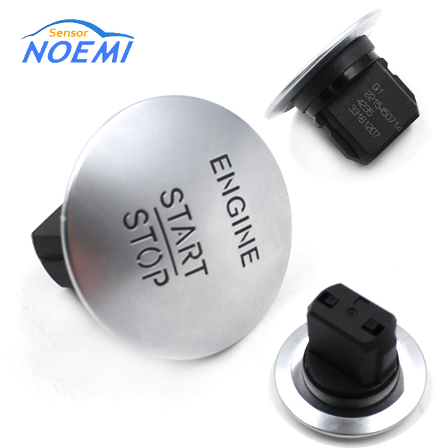 YAOPEI Keyless Go Start Stop Push Button Engine Ignition Switch fit for Mercedes Benz CL550 ML350 GLK350 2215450714 33161207