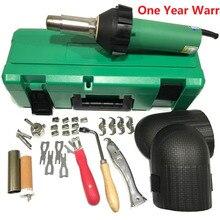 1600 Вт Тепловая пушка горячего воздуха нагревательный пистолет пластиковый TPO ПВХ баннер сварочный нагревательный элемент сварочный сопло напольный инструмент
