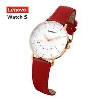 Original Lenovo Watch S Smartwatch 5ATM Waterproof Smart Quartz Watch Sleep Monitoring PK Watch X and Watch 9