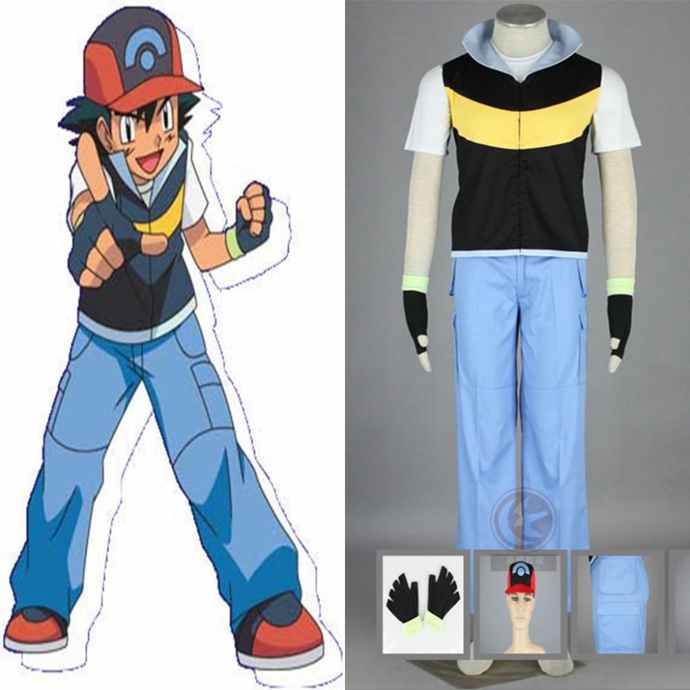 anime-font-b-pokemon-b-font-ash-ketchum-trainer-cosplay-costume-coat-t-shirt-pants-hat-gloves